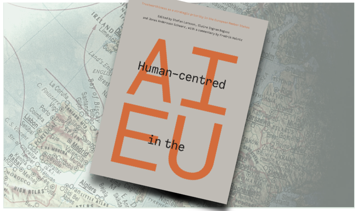 "Book cover ""Human-centered AI in the EU"""